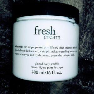 Philosophy Fresh Cream Body Souffle 16oz